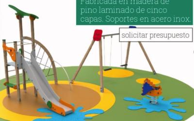 NOVEDAD EN PARQUES INFANTILES BENITO Y ASOCIADOS