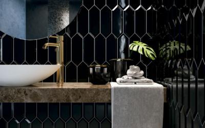 Beveled Picket, los azulejos geométricos que no pasan de moda