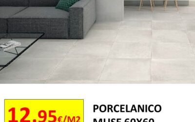 PROMOCION PORCELANICO RECTIFICADO MUSE 60X60